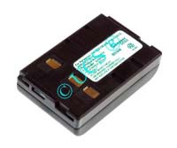 Ersatzakku für Camcorder(Analog) GRUNDIG LC 500C 73x46x19,5x0mm BP74 / BP75 Ni-MH EAN 4038338005509 4,8V 2100mAh für Panasonic VW-VBH10E CONNECT H-Nr.: 102490
