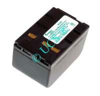 Ersatzakku für Camcorder(Analog) BLAUPUNKT SC 646 73x46x43,5x0mm V201 / V218 / DR14 / AX2120 Ni-MH EAN 4038338005516 4,8V 4000mAh für Panasonic VW-VBH20E CONNECT H-Nr.:102492
