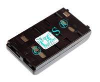 Ersatzakku für Camcorder(Analog) PANASONIC PV-IQ 203 89x46x19x0mm  Ni-MH EAN 4038338005530 6V 2100mAh für Wendeakku Blaupunkt/Panasonic/Sharp CONNECT H-Nr.: 102495