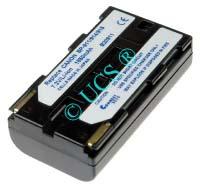 Ersatzakku für Camcorder(digital) CANON V 500 70x38x20,5x0mm BP-911 / BP-914 / BP-915 / BP-924 / BP-930 / BP-941 / BP-970 Li-Ion EAN 4038338010541 7,2V 2200mAh für Canon BP-911, BP-915, CONNECT H-Nr.: 102516