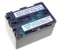 Ersatzakku für Camcorder(digital) SONY DCR-PC 100E 56x38,5x40x0mm NP-QM91 / NP-QM71 Li-Ion EAN 4038338012408 7,2V 3000mAh für Sony NP-FM70, anthrazit CONNECT H-Nr.: 108423
