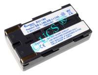 Ersatzakku für Camcorder(digital) SAMSUNG VP-M 50 70,5x38,5x20,5x0mm SB-L111 / SB-L111A / SBL-160 / SB-L220 / SB-L320 / SB-L480 / MD9014 / MD9021 Li-Ion EAN 4038338014556 7,4V 2200mAh für Samsung SB-L160A, anthrazit CONNECT H-Nr.: 108849