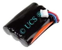 Ersatzakku für Schnurlos-Telefon BANG & OLUFSEN BEOCOM 6000 47x31x11x0mm  Ni-MH EAN 4038338005707 3,6V 600mAh für B&O Beocom 6000 CONNECT H-Nr.:109820