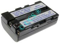 Ersatzakku für Camcorder(digital) SONY DCR-PC 5 50,5x30x16x0mm NP-FS10 / NP-FS11 / NP-F10 /NP-FS12 Li-Ion EAN 4038338015454 3,6V 1500mAh für Sony NP-FS11, anthrazit CONNECT H-Nr.: 110167