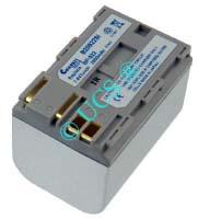Ersatzakku für Digitalkamera CANON EOS 10D 55,1x38,2x39,9x0mm BP511 Li-Ion EAN 4038338014037 7,4V 3000mAh für Canon BP-522 CONNECT H-Nr.: 111090