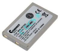Ersatzakku für Digitalkamera MINOLTA DIMAGE X 51,8x31,3x6,2x0mm NP-200 Li-Ion EAN 4038338016352 3,7V 700mAh für Minolta NP-200 CONNECT H-Nr.: 111677