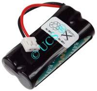 Ersatzakku für Schnurlos-Telefon BINATONE BIG BUTTON COMBO 0x0x0x0mm GPHCH73N07 Ni-MH EAN 4038338020298 2,4V 720mAh für Alcatel Versatis150 / 250 / 350 CONNECT H-Nr.:114569
