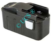 Ersatzakku für Werkzeug ATLAS COPCO BEST 9.6X SUPER 125x66x67x0mm B9.6 / BX9.6 / BXS9.6 / MX9.6 / 4932353638 / 4932366429 Ni-CD EAN 4041683101512 9,6V 1400mAh Werkzeugakku Atlas Copco/Milwaukee AKKU POWER H-Nr.:P151