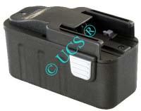 Ersatzakku für Werkzeug ATLAS COPCO LOKTOR P 14.4T 125x66x67x0mm B14.4 / BF14.4 / BX14.4 / BXS14.4 / BXL14.4 / MX14.4 / MXS14.4 Ni-CD EAN 4041683101710 14,4V 1500mAh Werkzeugakku Atlas Copco / Milwaukee AKKU POWER H-Nr.:P171