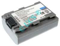 Ersatzakku für Camcorder(Analog) SONY DCR-HC 23 45,5x31,8x18,7x0mm NP-FP30 / NP-FP50 / NP-FP60 / NP-FP70 / NP-FP71 / NP-FP90 Li-Ion EAN 4038338020250 7,2V 750mAh für Sony NP-FP50, anthrazit DIVERSE H-Nr.: 115765