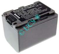 Ersatzakku für Camcorder(digital) SONY DCR-DVD 103 45,5x31,8x33,4x0mm NP-FP30 / NP-FP50 / NP-FP60 / NP-FP70 / NP-FP71 / NP-FP90 Li-Ion EAN 4038338020854 7,2V 1500mAh für Sony NP-FP70, anthrazit CONNECT H-Nr.: 115768