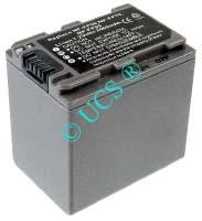 Ersatzakku für Camcorder(digital) SONY DCR-DVD 103 45,5x31,7x45,5x0mm NP-FP30 / NP-FP50 / NP-FP60 / NP-FP70 / NP-FP71 / NP-FP90 Li-Ion EAN 4038338020878 7,2V 2460mAh für Sony NP-FP90, anthrazit CONNECT H-Nr.: 115770