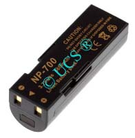 Ersatzakku für Digitalkamera KONICA MINOLTA DG X50 S 47,5x15,4x15x0mm NP-700 Li-Ion EAN 4038338019742 3,7V 720mAh für Konica Minolta NP-700 CONNECT H-Nr.: 116909