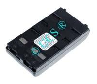 Ersatzakku für Camcorder(Analog) BAUER/BOSCH V 61 89,5x46x18,5x0mm V92 Ni-MH EAN 4038305005525 6V 2100mAh für Panasonic VW-VBS1E / BN-V11U CONNECT H-Nr.: 118287