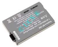 Ersatzakku für Camcorder(digital) CANON DC 10 63,1x40,45x8,2x0mm BP-208 Li-Ion EAN 4038338012439 7,4V 850mAh für Canon BP-208 CONNECT H-Nr.:119588
