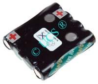 Ersatzakku für Funkgerõte AUDIOLINE PMR EASY 9 0x0x0x0mm  Ni-MH EAN 4038338018615 4,8V 720mAh für Audioline PMR Easy 008 CONNECT H-Nr.:123181