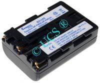 Ersatzakku für Camcorder(digital) SONY DCR-TRV 22K 55,76x38,53x20,4x0mm NP-FM30 / NP-FM50 / NP-FM51 / NP-FM55H / NP-QM50 / NP-QM51 Li-Ion EAN 4008308053861 7,4V 1600mAh für Sony NP-FM55H, anthrazit DIVERSE H-Nr.: 124144
