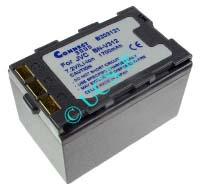 Ersatzakku für Camcorder(digital) JVC GR-DVX 400 53,75x33,2x32,7x0mm BN-V306 / BN-V312 Li-Ion EAN 4038338023855 7,2V 2000mAh für JVC BN-V312 CONNECT H-Nr.: 124315