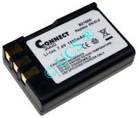 Ersatzakku für Digitalkamera NIKON D 60 0x0x0x0mm EN-EL9 / EN-EL9A Li-Ion EAN 4038338031386 7,4V 900mAh für Nikon EN-EL9 CONNECT H-Nr.: 124795