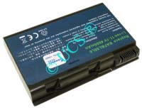 Ersatzakku für Notebook ACER TRAVELMATE 4202WLMI 135,7x89x19,3x0mm BATBL50L6 / BATBL50L8H Li-Ion EAN 4038338033755 11,1V 4500mAh für Acer Aspire 3100 CONNECT H-Nr.:125957