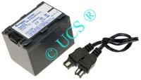 Ersatzakku für Camcorder(digital) SONY HDR-TG 3E 45,1x31,9x18,7x0mm NP-FH30 / NP-FH40 / NP-FH50 / NP-FH60 / NP-FH70 / NP-FH90 / NP-FH100 Li-Ion EAN 4038338033908 7,4V 750mAh für Sony NP-FH50 CONNECT H-Nr.: 126260