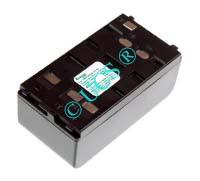 Ersatzakku für Camcorder(Analog) FISHER FVC 2000 89,5x46,5x36,5x0mm NP-55 / NP-66 / NP-77 / NP-77H Ni-MH EAN 4038338005585 6V 4200mAh für Wendeakku Blaupunkt/Panasonic/Sharp CONNECT H-Nr.: 300205