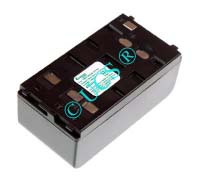 Ersatzakku für Camcorder(Analog) FUNAI FCP 100 89,5x46,5x36,5x0mm  Ni-MH EAN 4038338005585 6V 4200mAh für Wendeakku Blaupunkt/Panasonic/Sharp CONNECT H-Nr.: 300205