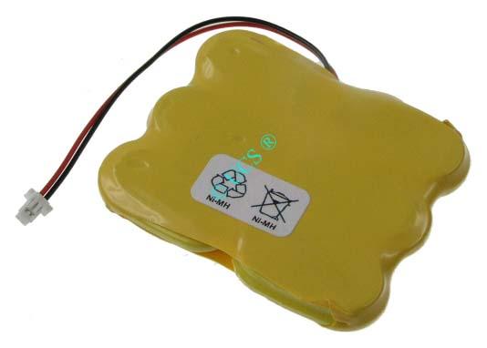 Ersatzakku für CMOS CONNECT 3000 CMOS ALLGEMEIN 1 0x0x0x0mm 6/X150H mit Stecker Ni-MH EAN 4038338019872 7,2V 150mAh CMOS Batterie CONNECT H-Nr.: 301301